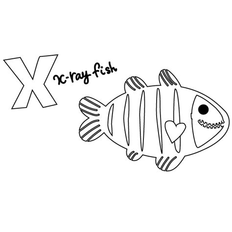ray fish coloring page coloring home