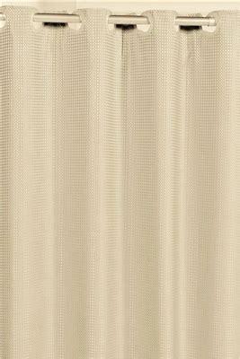 hookless waffle weave shower curtain