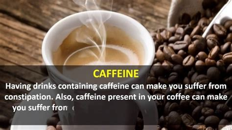 So the fixes are simple: Does daily coffee consumption cause constipation? - Quora