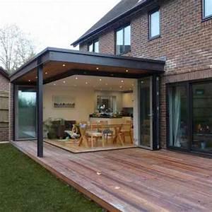 idee agrandissement maison 50 extensions esthetiques With toit en verre maison 7 brique de verre wikipedia