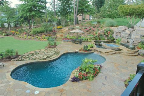 landscape elements pool projects traditional pool atlanta by elements landscape