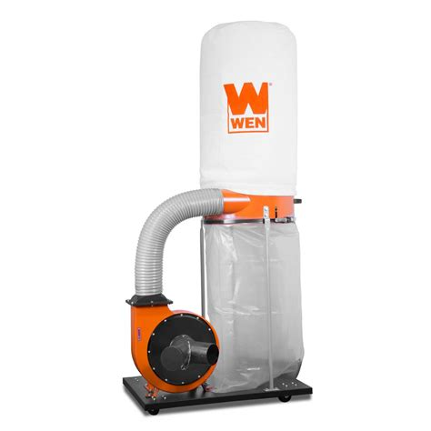 wen  cfm  amp  micron woodworking dust collector