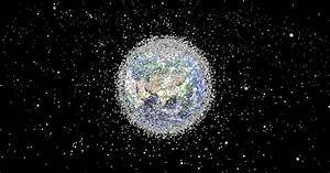This graphic shows the massive growth of space junk ...