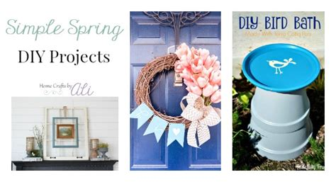 Simple Spring Diy Decor For Your Home