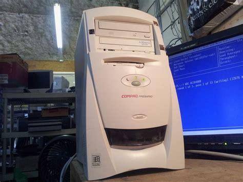 Vintage Compaq Presario 5220 Gaming Desktop Computer