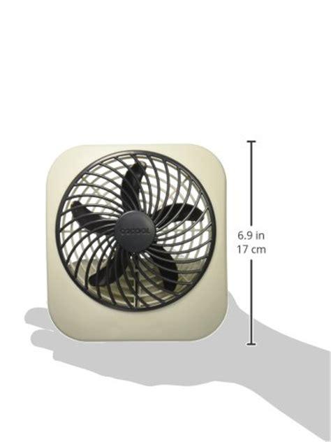 16 inch battery operated fan o2cool 5 inch portable fan gray 801947318933