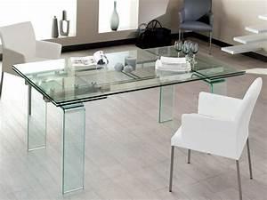Table A Manger En Verre Ikea : table verre rallonge ~ Preciouscoupons.com Idées de Décoration