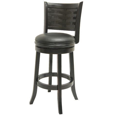 boraam solid wood swivel bar stools