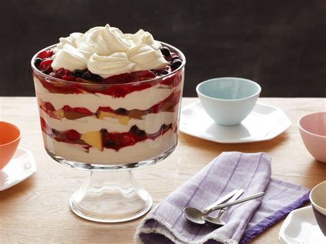 berry trifle food network recipe tyler florence food