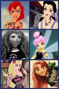 Punk Sleeping Beauty,Tinkerbell,Belle... | Punk Twisted ...