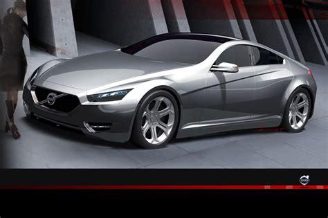 car  volvo sc sports sedan concept  hot