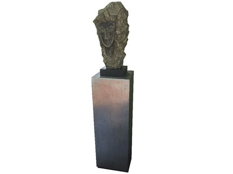 Sculpture Pedestal by Contemporary Sculpture And Pedestal Dogs Republic 20th