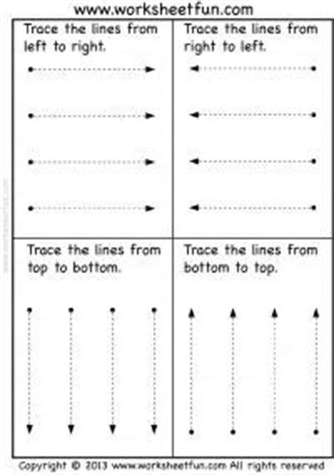 tracing vertical horizontal  slanted