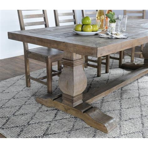 kasey reclaimed wood dining table  kosas home wood