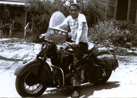 Cross Country Motorcycles Trips In 1949