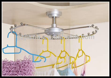 closet rotating wire clothes rack furniture accessories
