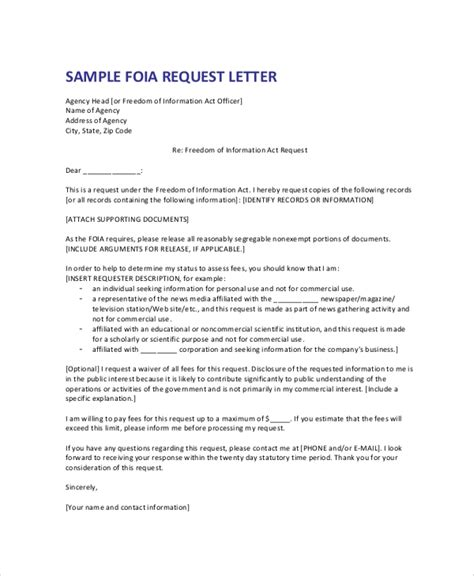 Exle Of Formal Letter Of Request by Formal Letter Sles Exles Templates 8 Documents