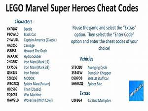 Cheat Codes For Lego Marvel Superheroes Wii U Games