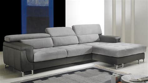 canapé d angle microfibre gris canapé d 39 angle droit cuir microfibre gris pas cher