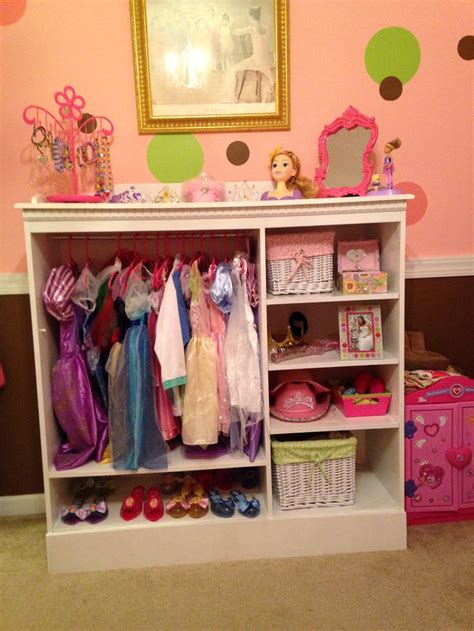 Dress Up Cupboard by Dress Up Closet For Abby With Kiddos