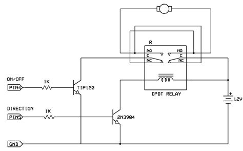 bidirectional motor control use arduino for projects