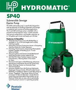 145393 1 Hydromatic Sp40 Brochure User Manual