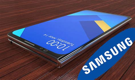 samsung galaxy x foldable and transparent display