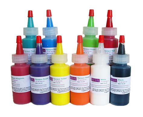 Resin Obsession Opaque Color Pigments