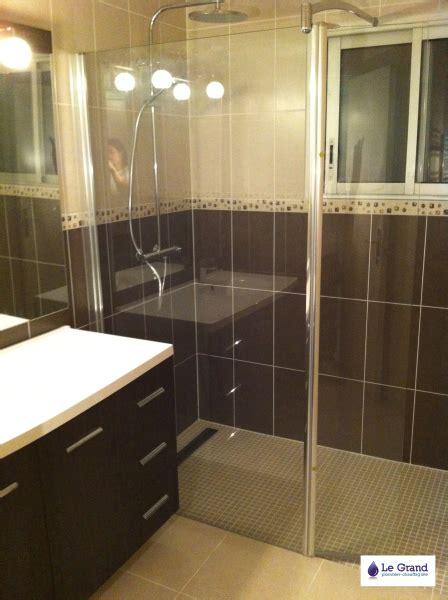 salle de bain et marron galerie photo le grand plombier chauffagiste rennes