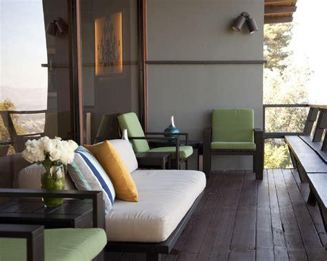 Hollywood Hills Balcony - Modern - Patio - Los Angeles