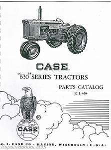 Case 630 Parts Manual