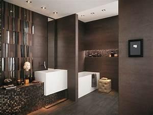 les 25 meilleures idees concernant salle de bain marron With carrelage marron salle de bain