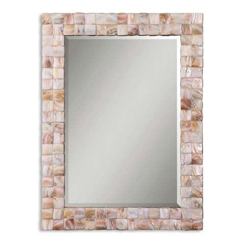 Mosaic Framed Bathroom Mirror by 30 Ideas Of Mosaic Tile Framed Bathroom Mirrors