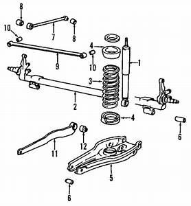 Rear Axle For 1986 Saab 900