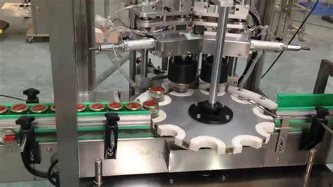 automatic capping machine  vacuum sealing system glass jars capper iron cap screwing