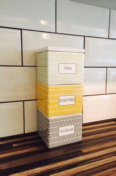Tea, Coffee & Sugar Storage Jars 3 Piece Set   Bread Bins