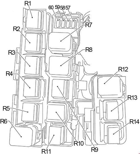 2005 Nissan Fuse Box Diagram by 2005 2014 Nissan Xterra Fuse Box Diagram 187 Fuse Diagram