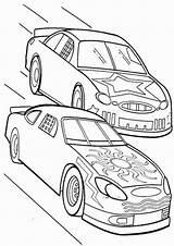 Race Pages Coloring Racing Drawing Cars Tulamama Plush Drawings Boy Track Getdrawings Easy Print Winner sketch template