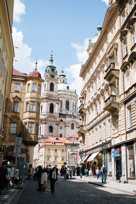 Cobblestone Streets Of Prague Entouriste