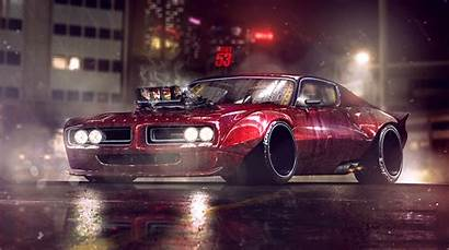 Dodge Charger 4k Artwork Wallpapers Muscle Cars