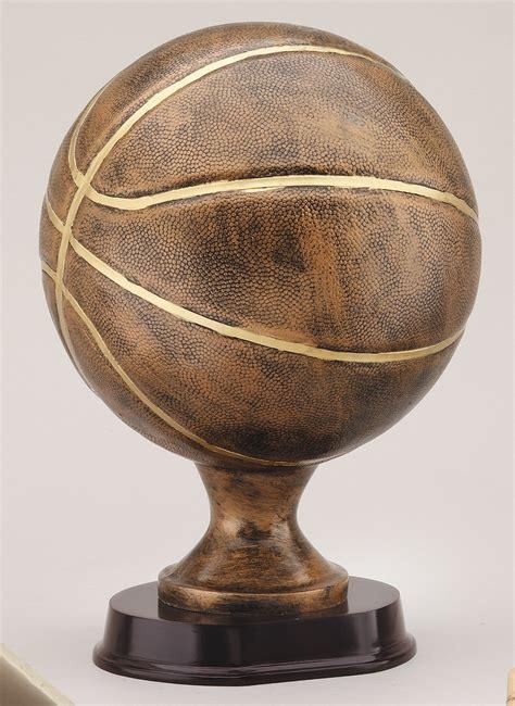 Large Basketball Resin Awardtrophy Trolley