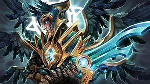 Wallpapers DOTA 2 Skywrath Mage Magic Swords Warriors ...