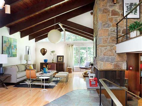 mid century modern marvel  delaware restoration design   vintage house  house
