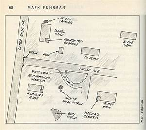 Diagram Of Moxley Crime Scene  Mark Fuhrman   U0026quot Murder In