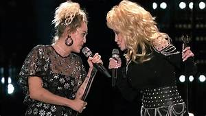 Dolly Parton and Miley Cyrus team up for amazing 'Jolene ...