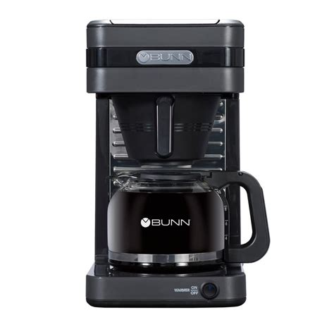 The tap has a cold brew setting which gets the job done. Bunn Coffee Maker Speed Brew Elite Stainless Steel Drip ...
