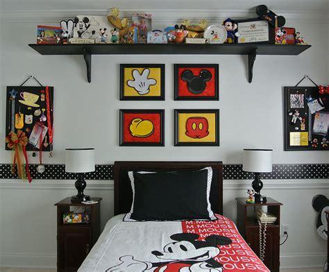 chambre mickey mouse la chambre d 39 enfant mickey mouse retro momes