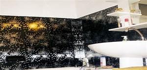 Carrelage Adhesif Pour Salle De Bain : carrelage adh sif salle de bain on a test c 39 est super d co cool ~ Mglfilm.com Idées de Décoration
