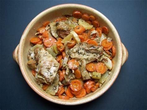 cuisiner tendron de veau recette de tendrons de veau aux carottes