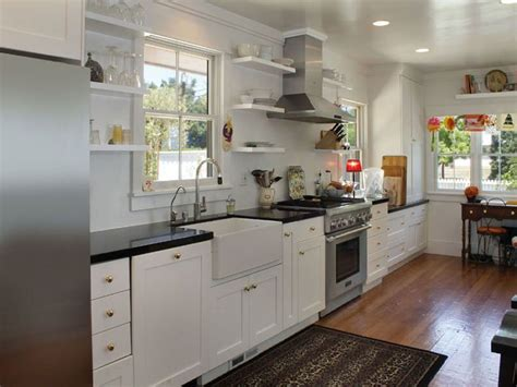 island cabinets 29 gorgeous one wall kitchen designs layout ideas